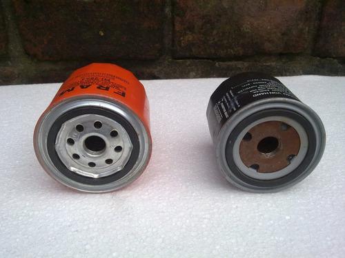 lote de 2 filtros de aceite nuevos sin uso