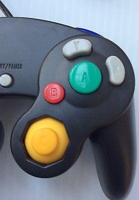 lote de 2 juegos cubo / control de wii cableado color negro