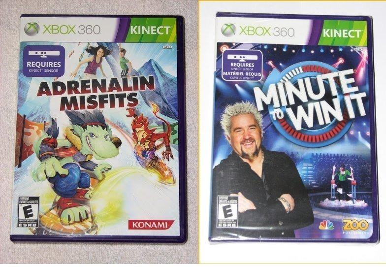 Lote De 2 Juegos Para Xbox360 Kinect 600 00 En Mercado Libre
