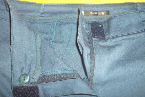 lote de 2 pantalones de vestir basement talle 36 y 38