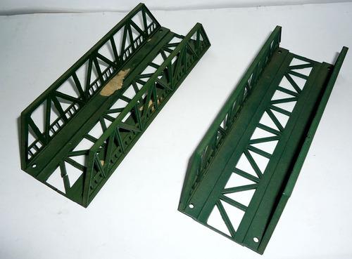 lote de 2 puentes ho 1/87