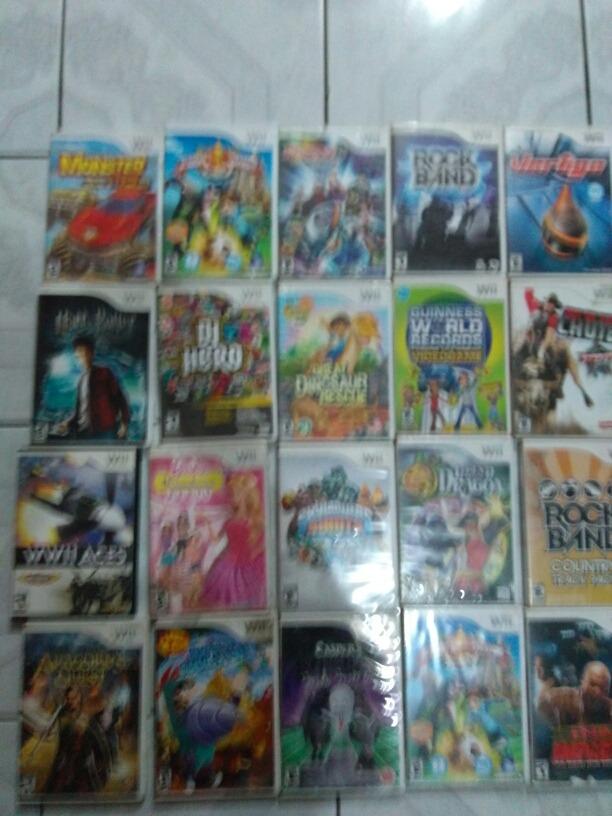 Lote De 20 Juegos Para Nintendo Wii 2 800 00 En Mercado Libre