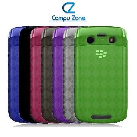lote de 20 protectores case tpu blackberry curve 9350 9360