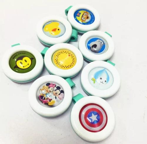 lote de 20 pzs botón repelente de mosquitos para niños bebés