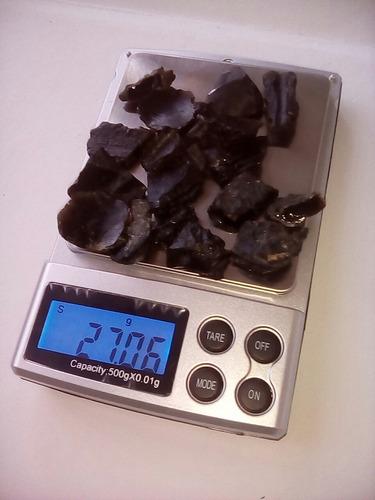 lote de 20 tectitas fragmentos de cristal natural