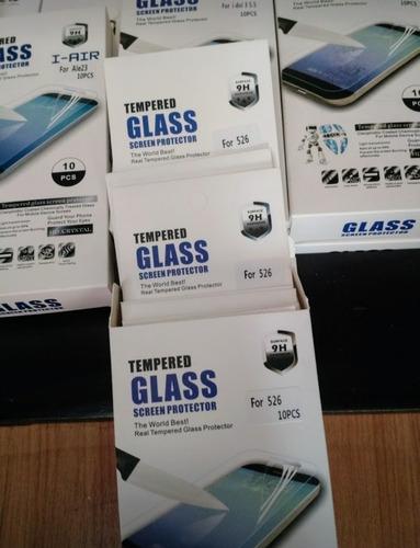 lote de 200 micas de cristal templado con envio gratis