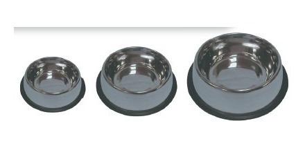 lote de 21 platos de acero inoxidable diferentes tamaños
