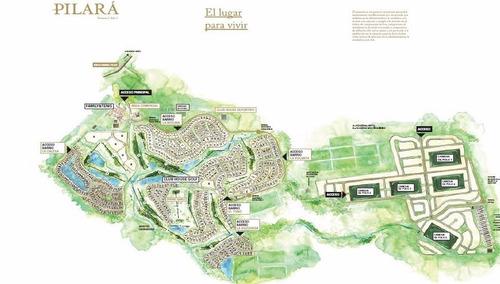 lote de 2290 m² en venta - pilará - pilar
