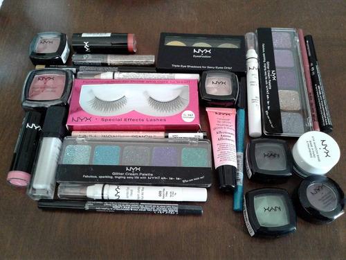 lote de 25 cosmeticos nyx envio gratuito