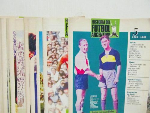 lote de 25 fasciculos historia del futbol argentino la nacio