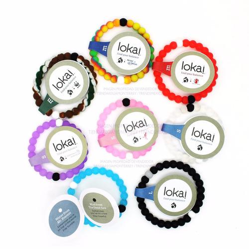 lote de 25 pulseras originales lokai + envío gratis