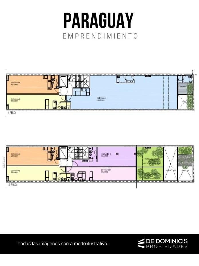 lote de  286 m2. planos aprobados- paraguay 800.