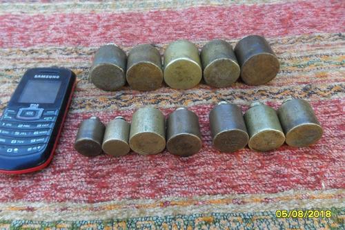 lote de 3 antiguas pesas a elección de 50, 100 y 200 grs