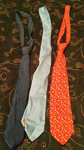 lote de 3 corbatas!!