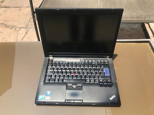 lote de 3 laptops t400 lenovo hd de 120 2 ram