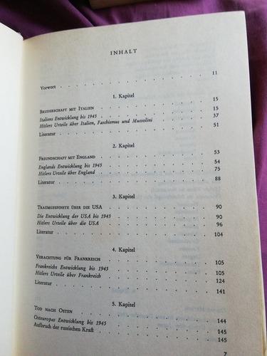 lote de 3 libros antiguos en alemán sobre adolf hitler,
