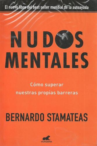 lote de 3 libros nuevos, stamateas,  nudos mentales,