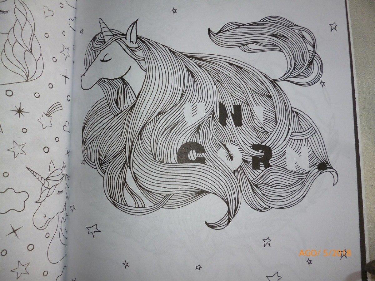 Lote De 3 Libros Para Colorear Mandalas De Unicornios 20000 En