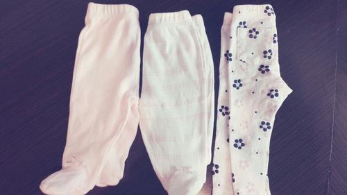 lote de 3 pantalones mon caramel para bebes