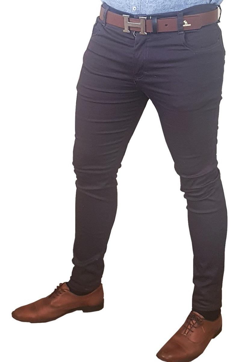 Lote De 3 Pantalones Para Hombre Corte Skinny Entubados ...