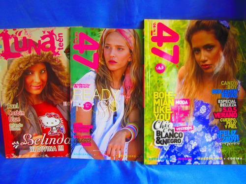 lote de 3 revistas 47 street y luna teen