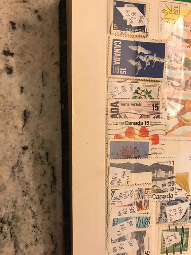 lote de 30 sellos de canada