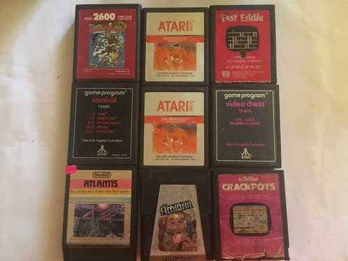 lote de 31 juegos de atari 2600 -wird us-