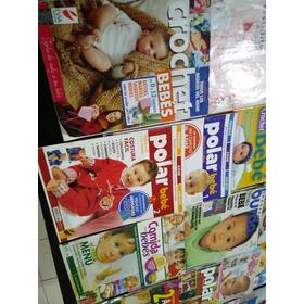 Lote De 34 Revistas Ajuar Del Bebé, Todo Polar, Tejido