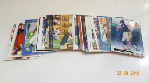 lote de 39 tarjetas de los vikingos de minnesota nfl cards