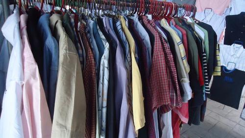 lote de 4 camisas americanas varias marcas tallas l-xl y xxl