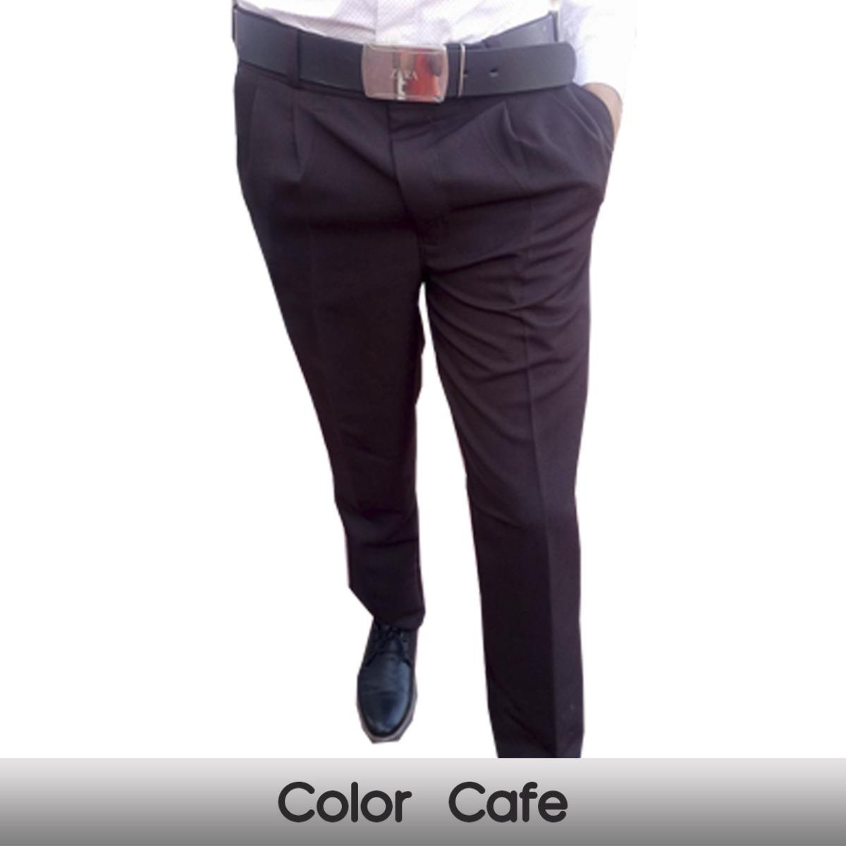 Lote De 4 Pantalones De Vestir Caballero Envio Gratis