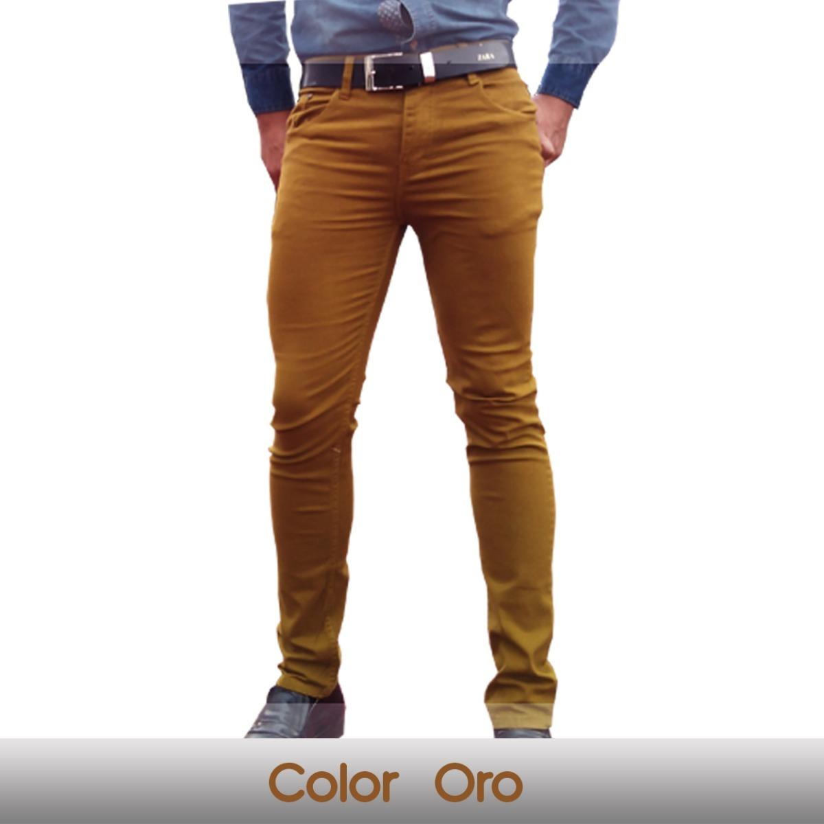 imágenes detalladas varios estilos diseño hábil Lote De 4 Pantalones Para Hombre Skiny Envio Gratis