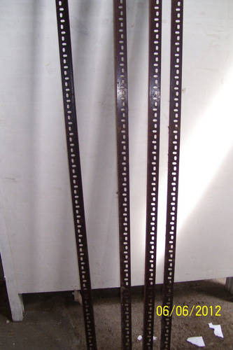 lote de 4 parantes estanteria pesado 240 cm.