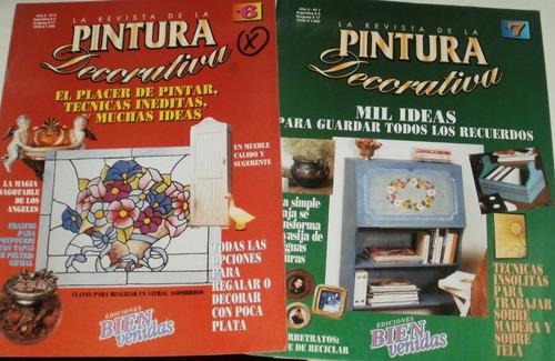lote de 4 revistas pintura decorativa alvarez roldan
