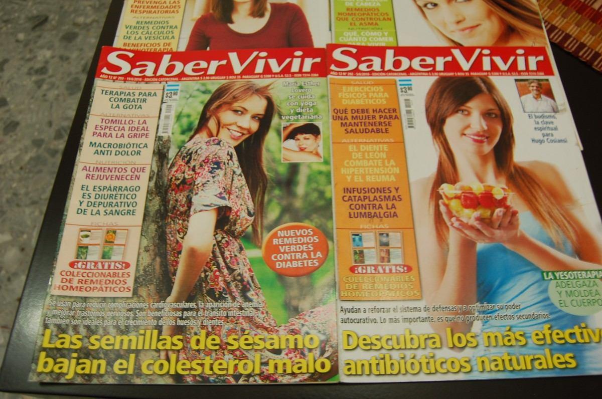 Lote De 4 Revistas Saber Vivir Ideal Consultorio 50 00 En
