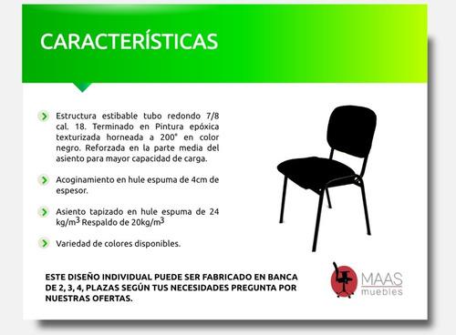 lote de 4-sillas de visita cyber,oficina,iglesia consultor