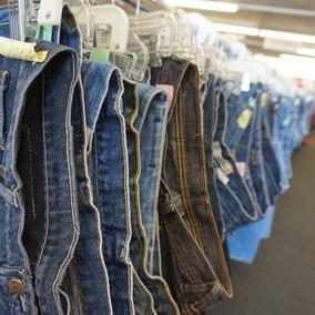 c89ca2f51147e5 Lote De 40 Calças Jeans Femininas Usadas Atacado Brechó