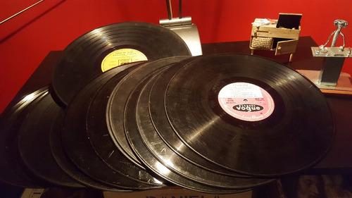 lote de 40 discos lp vinilo para decoracion artesanias