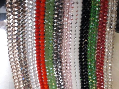 lote de 40 tiras cristal