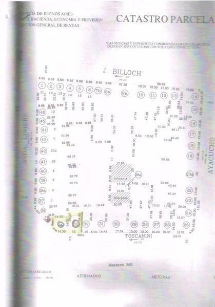 lote de 436 m2 en la rotonda de punto tigre