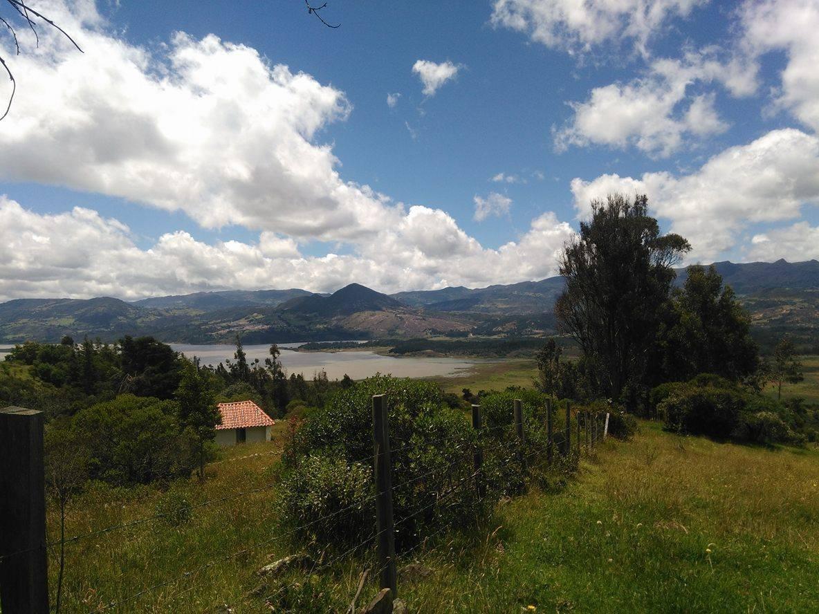 lote de 4.5 hectareas en guatavita con vista a la represa