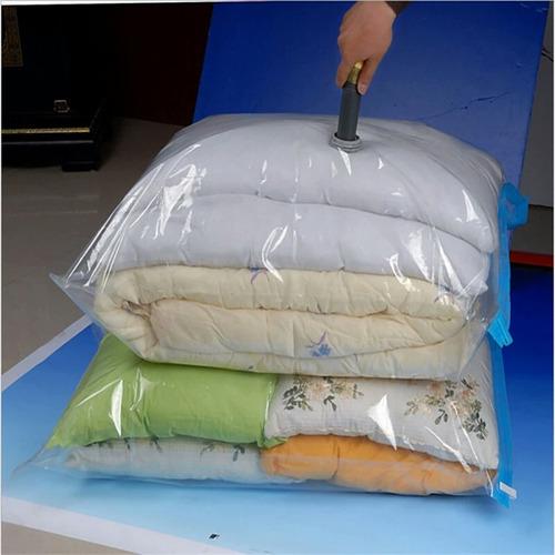 lote de 5 bolsas al vacio para ropa extra grandes 80*60cms