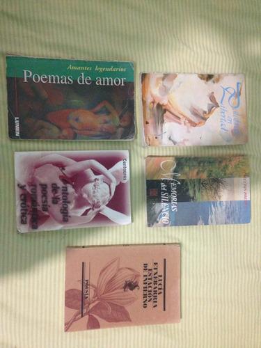 lote de 5 libros