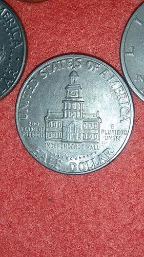 lote de 5 monedas americanas de coleccion.