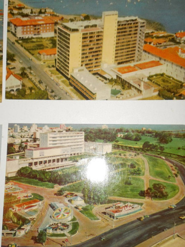 lote de 5 postales antiguas de punta del este