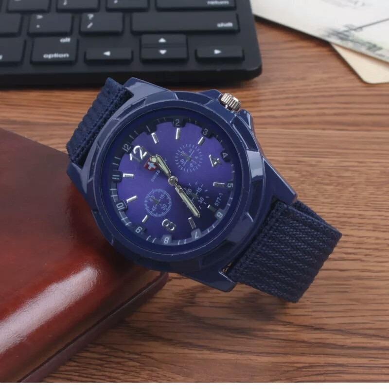 63e01e6f27f7 Lote De 5 Relojes Gemius Army Estilo Militar Moda 5 Colores ...