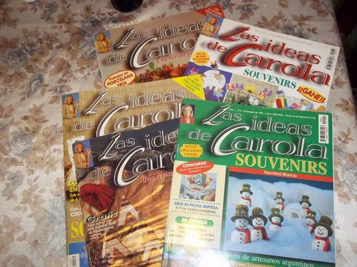lote de 5 revistas de las ideas de carola