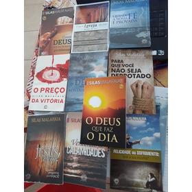 Lote De 50 Livros De Silas Malafaia