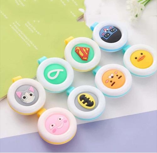 lote de 50 pzs botón repelente de mosquitos para niños bebés
