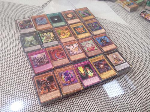 lote de 500 cartas yugioh originales variedad de rarezas